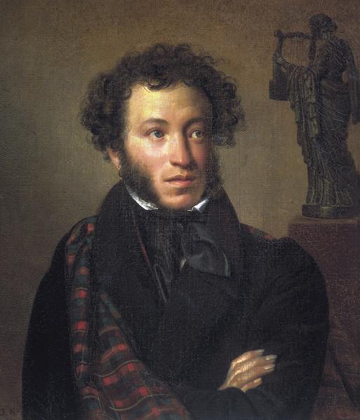 Портрет поэта А.С. Пушкина,  Орест Адамович Кипренский, 1827
