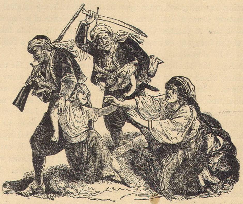 Danak u krvi, ilustracija.