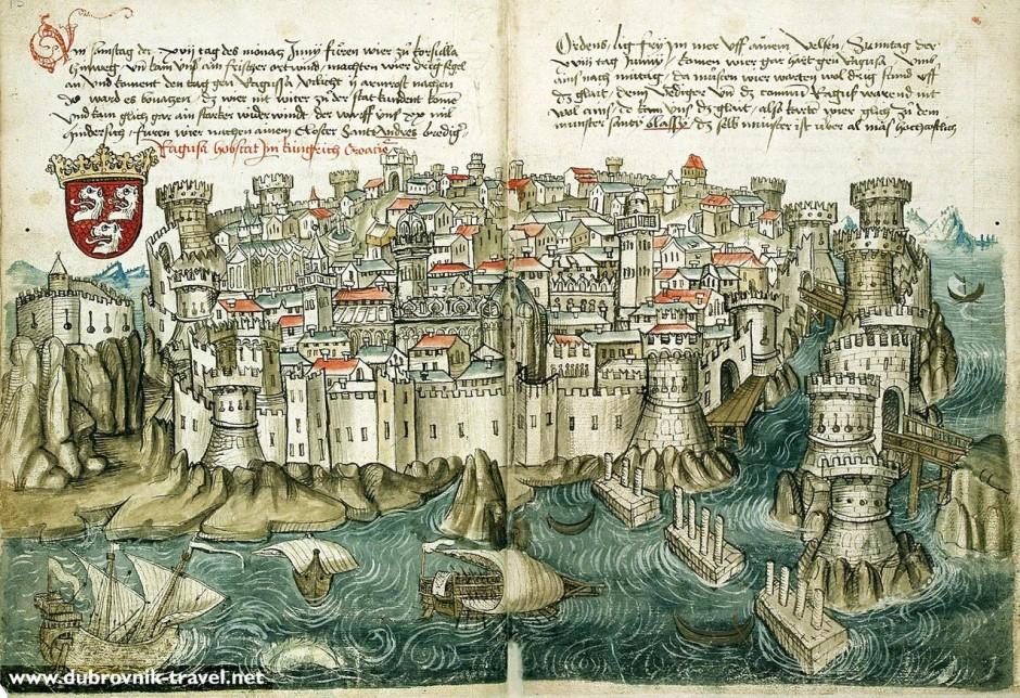 дубровник, конрад фон груненберг 1468.